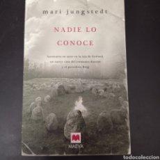 Libros: NADIE LO CONOCE ,. MARI JUNGSTEDT. Lote 261122735