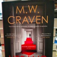 Libros: M.W.CRAVEN. VERANO NEGRO.( UN CASO DEL DETECTIVE WASHINGTON POE 2).ROCA. Lote 261142815