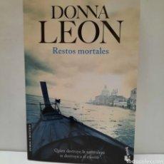 Libros: RESTOS MORTALES DE DONNA LEON. Lote 261143775