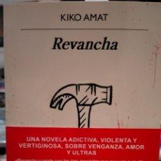 Libros: KIKO AMAT. REVANCHA . ANAGRAMA). Lote 261143950