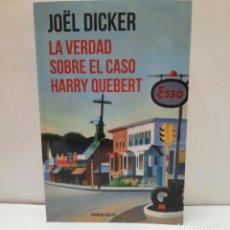 Libros: LA VERDAD SOBRE EL CASO HARRY QUEBERT. Lote 261144045