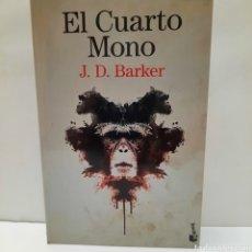 Libros: EL CUARTO MONO DE J. D. BARKER. Lote 261631635