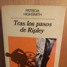 Libros: PATRICIA HIGHSMITH. TRAS LOS PASOS DE RIPLEY. Lote 262023910