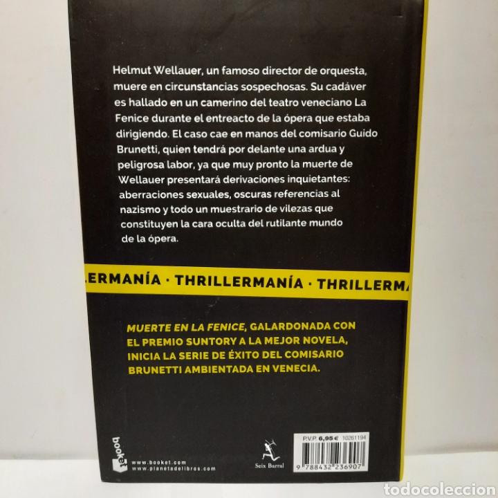 Libros: Muerte en la Fenice de Donna Leon - Foto 2 - 262818105