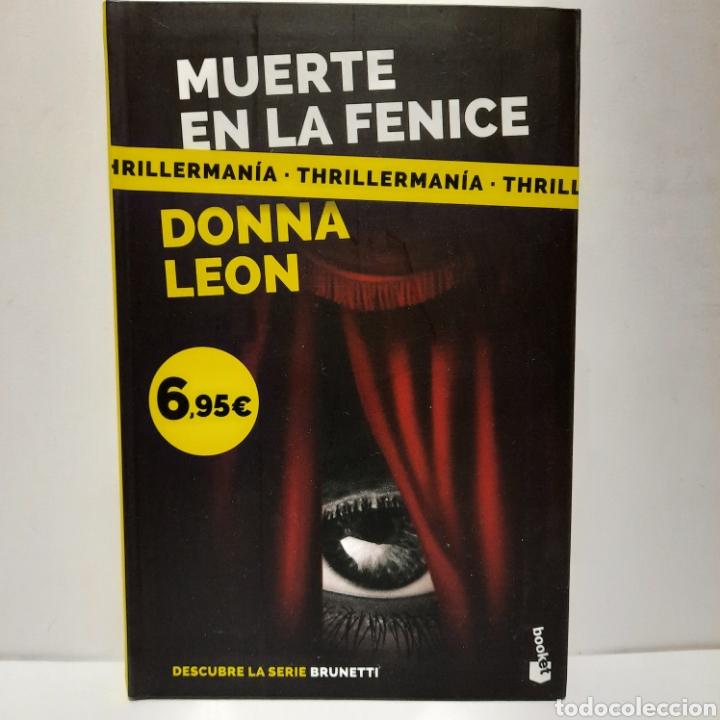 MUERTE EN LA FENICE DE DONNA LEON (Libros Nuevos - Literatura - Narrativa - Novela Negra y Policíaca)