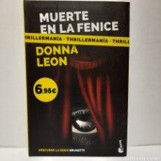 Libros: MUERTE EN LA FENICE DE DONNA LEON. Lote 262818105