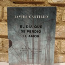 Libros: ESTUCHE EL DÍA QUE SE PERDIÓ LA CORDURA. EL DÍA QUE SE PERDIÓ EL AMOR. JAVIER CASTILLO.. Lote 262978150