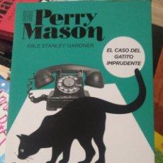Libros: EL CASO DEL GATITO IMPRUDENTE (SERIE PERRY MASON 5) ERLE STANLEY GARDNER SERIE HBO. Lote 264282220