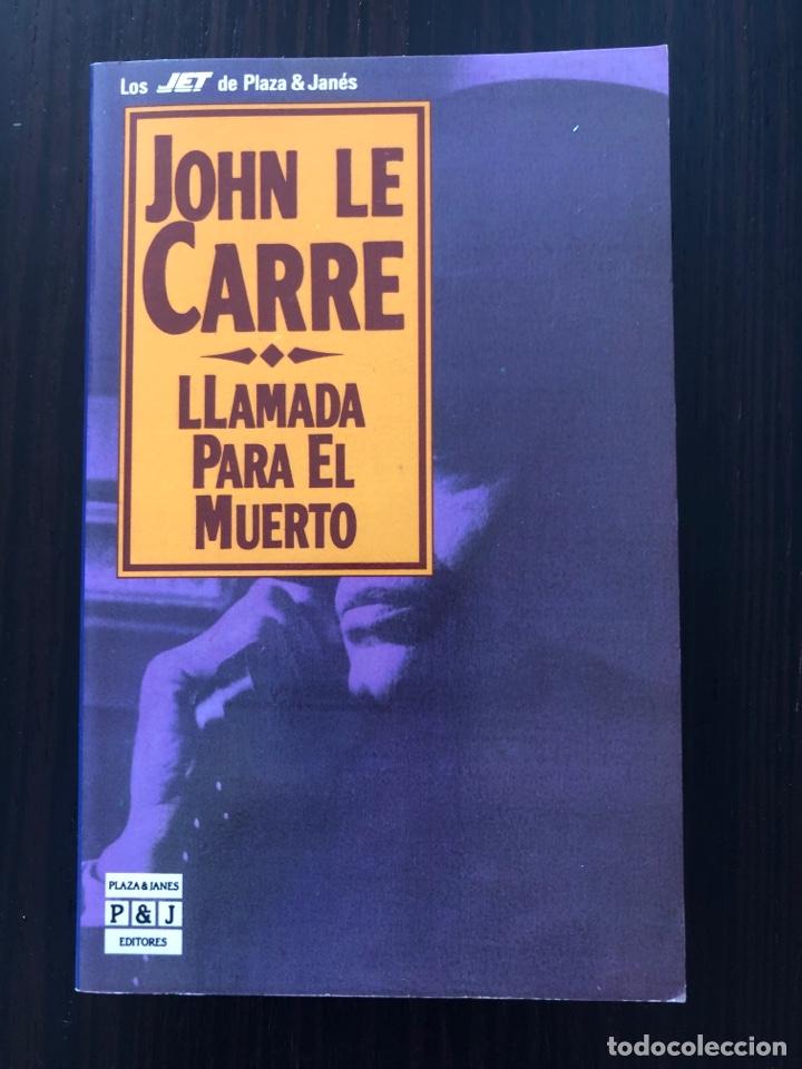 """LIBRO """"LLAMADA PARA EL MUERTO"""" Y """"EL ESPÍA QUE SURGIÓ DEL FRÍO"""". JOHN LE CARRÉ. (Libros Nuevos - Literatura - Narrativa - Novela Negra y Policíaca)"""