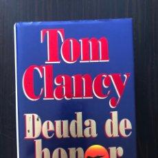 """Libros: LIBRO """"DEUDA DE HONOR"""", TOM CLANCY. Lote 266563288"""