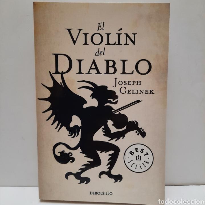 EL VIOLÍN DEL DIABLO DE JOSEP GELINEK. NUEVO (Libros Nuevos - Literatura - Narrativa - Novela Negra y Policíaca)