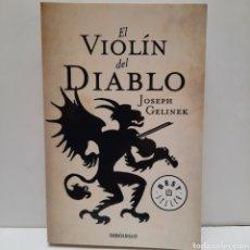 Libros: EL VIOLÍN DEL DIABLO DE JOSEP GELINEK. Lote 266971584