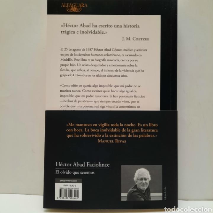 Libros: El olvido que seremos de Héctor Abad Faciolince NUEVO - Foto 2 - 266971649