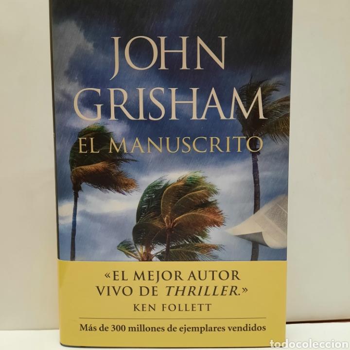 EL MANUSCRITO DE JOHN GRISHAM. NUEVO. (Libros Nuevos - Literatura - Narrativa - Novela Negra y Policíaca)