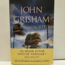 Libros: EL MANUSCRITO DE JOHN GRISHAM. Lote 266972169