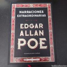 Libros: NARRACIONES EXTRAORDINARIA , EDGAR ALLAN POE. Lote 267093059