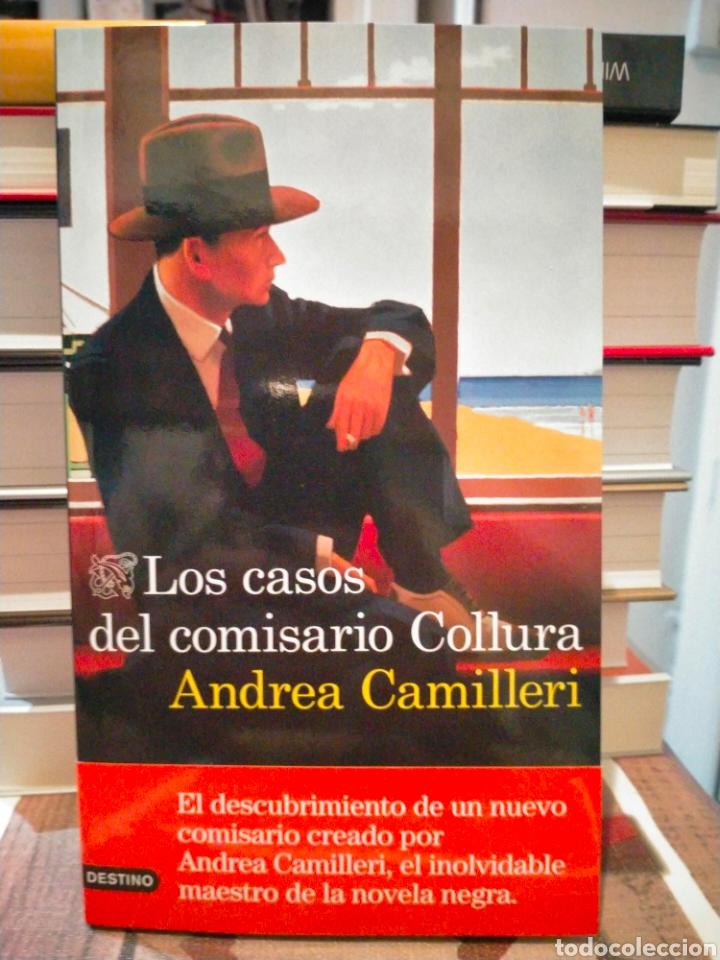 ANDREA CAMILLERI. LOS CASOS DEL COMISARIO COLLURA .DESTINO (Libros Nuevos - Literatura - Narrativa - Novela Negra y Policíaca)