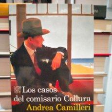 Libros: ANDREA CAMILLERI. LOS CASOS DEL COMISARIO COLLURA .DESTINO. Lote 267138384