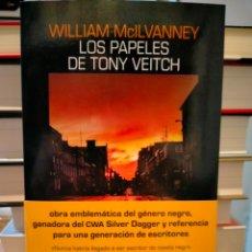 Libros: WILLIAM MCILVANNEY. LOS PAPELES DE TONY VEITCH.(UN CASO DEL INSPECTOR JACK LAIDLAW). SALAMANDRA. Lote 267138564