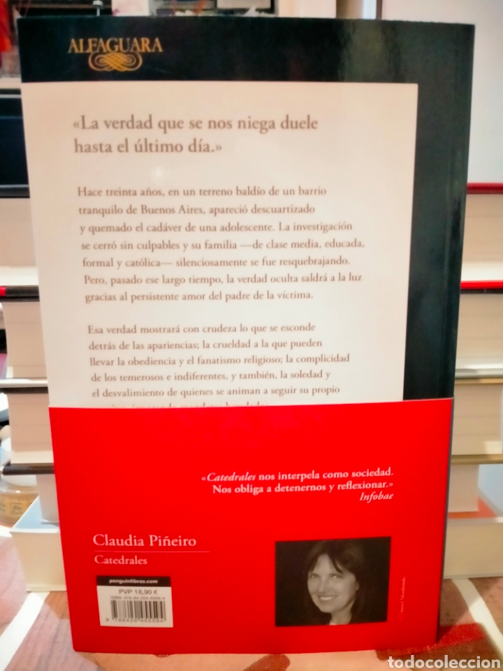 Libros: CLAUDIA PIÑEIRO . CATEDRALES .ALFAGUARA - Foto 2 - 267138679