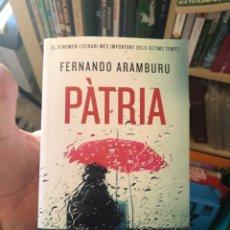 Libros: PATRIA. Lote 267566269