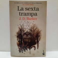 Libros: LA SEXTA TRAMPA DE J. D. BARKER. Lote 268470799
