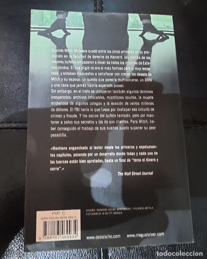 Libros: LA TAPADERA de JOHN GRISHAM - Foto 2 - 268813854