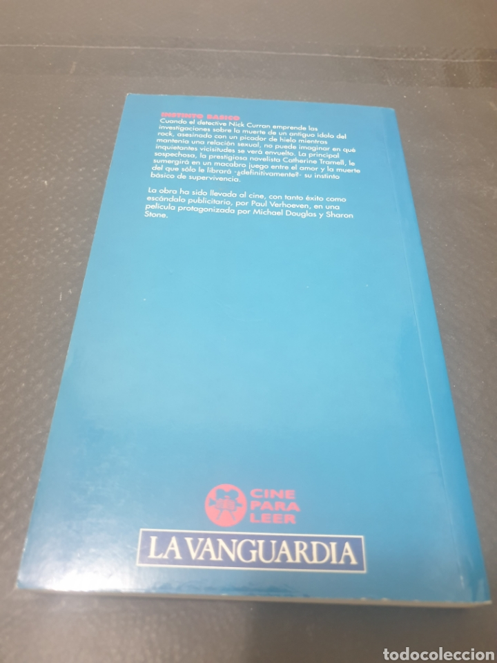 Libros: Instinto básico, 1992, Richard osborne - Foto 4 - 269386398