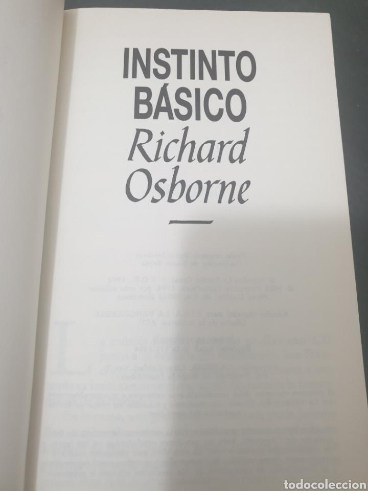 Libros: Instinto básico, 1992, Richard osborne - Foto 5 - 269386398