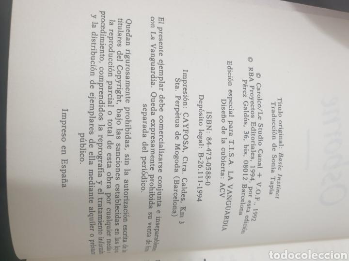 Libros: Instinto básico, 1992, Richard osborne - Foto 6 - 269386398