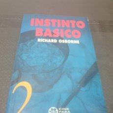 Libros: INSTINTO BÁSICO, 1992, RICHARD OSBORNE. Lote 269386398