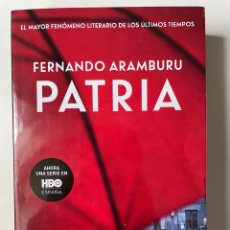 Libros: PATRIA. FERNANDO ARAMBURU. Lote 270363808