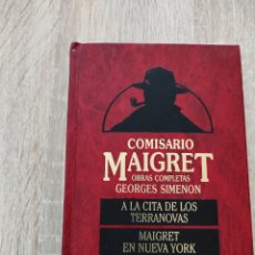 Libros: COMISARIO MAIGRET .. Lote 270924948