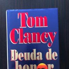 """Libros: LIBRO """"DEUDA DE HONOR"""", TOM CLANCY. Lote 275497608"""