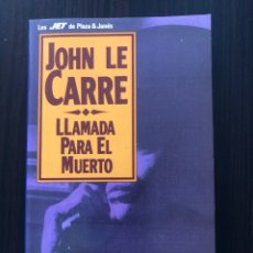 """Libros: 2 LIBROS DE BOLSILLO DE JOHN LE CARRÉ: """"LLAMADA PARA EL MUERTO"""" Y """"EL ESPÍA QUE SURGIÓ DEL FRÍO"""". Lote 275498173"""