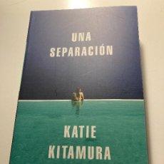 Libros: UNA SEPARACIÓN – KATIE KITAMURA (NUEVO). Lote 276225583