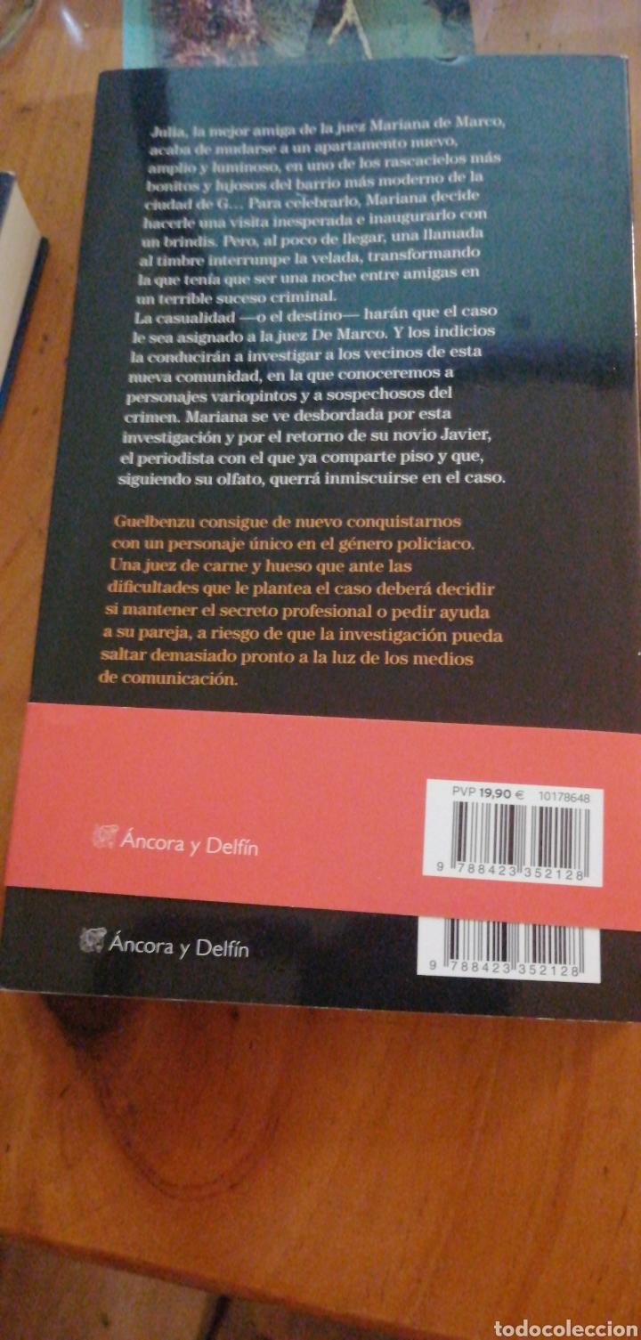 Libros: El asesino desconsolado - Guelbenzu, J. M. ISBN 9788423352128 - 2017 Destino in 4º rustica solapas - Foto 2 - 276949653