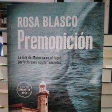 Libros: ROSA BLASCO. PREMONICIÓN .(UN CASO DE LA DOCTORA SIMONETA BREY Y EL COMISARIO DARÍO FERRER). MAEVA. Lote 278298448