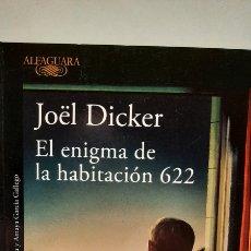 Libros: EL ENIGMA DE LA HABITACIÓN 622 DE JOËL DICKER. Lote 278430623