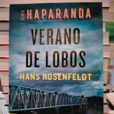 Libros: HANS ROSENFELDT VERANO DE LOBOS.( SERIE HAPARANDA). PLANETA. Lote 278535448