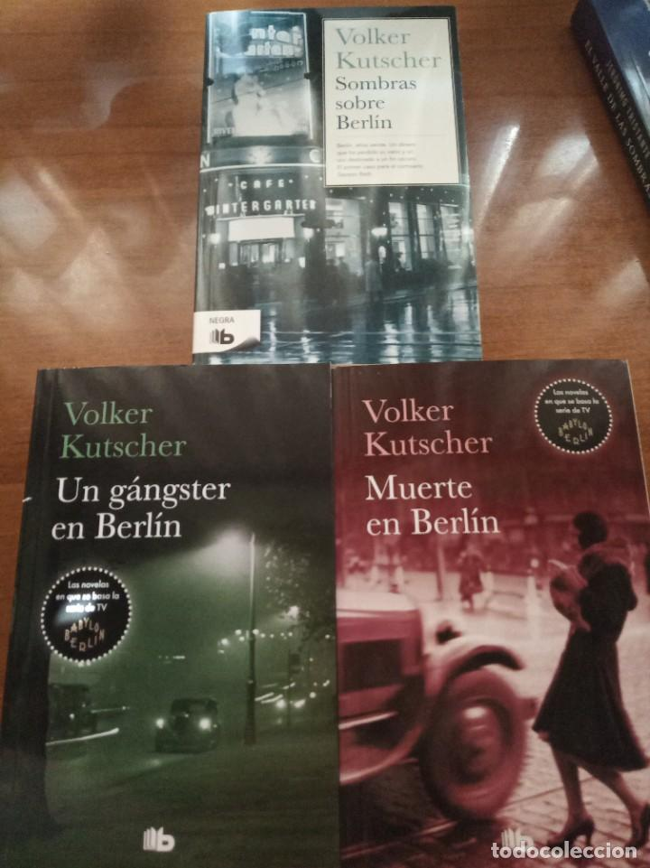 SOMBRAS SOBRE BERLÍN. UN GÁNGSTER EN BERLÍN. MUERTE EN BERLÍN. V. KUTSCHER (Libros Nuevos - Literatura - Narrativa - Novela Negra y Policíaca)