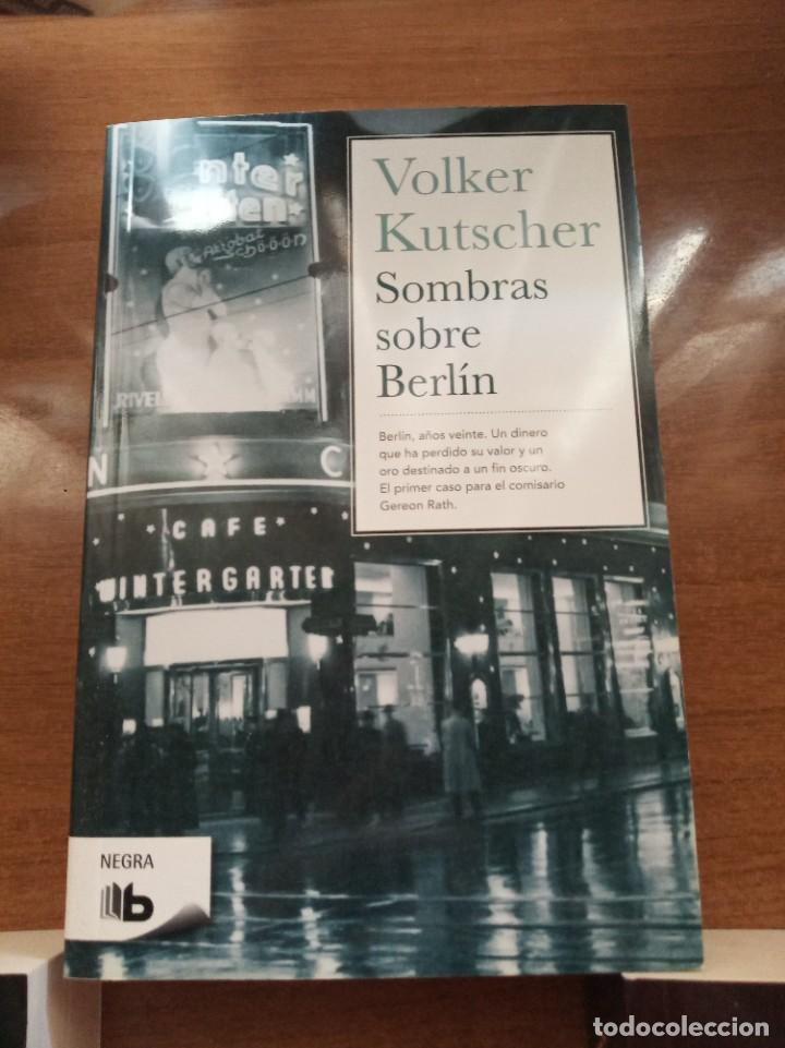 Libros: Sombras sobre Berlín. Un Gángster en Berlín. Muerte en Berlín. V. Kutscher - Foto 2 - 278807858