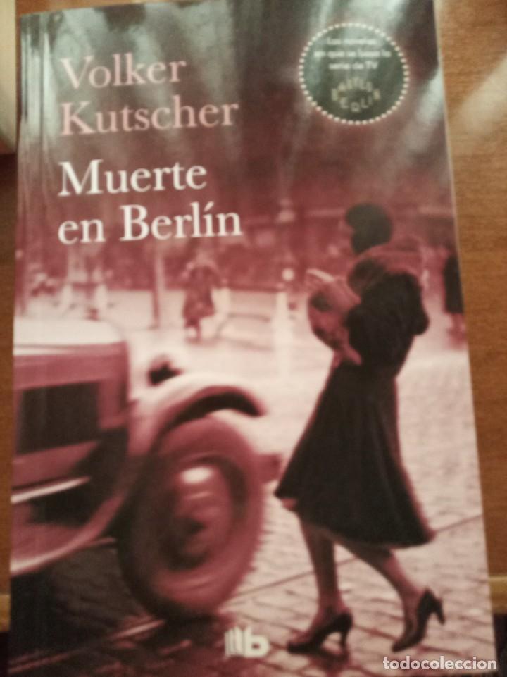 Libros: Sombras sobre Berlín. Un Gángster en Berlín. Muerte en Berlín. V. Kutscher - Foto 4 - 278807858