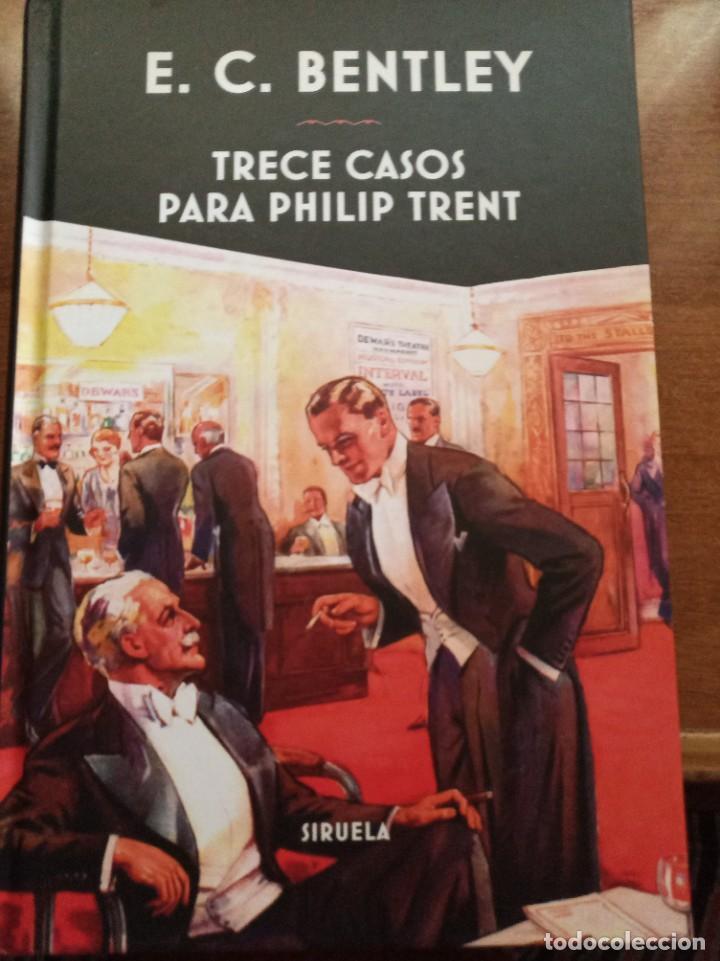 TRECE CASOS PARA PHILIP TRENT. E. C. BENTLEY (Libros Nuevos - Literatura - Narrativa - Novela Negra y Policíaca)