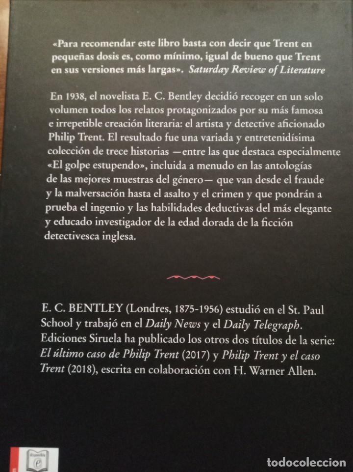 Libros: Trece casos para Philip Trent. E. C. Bentley - Foto 2 - 278809398