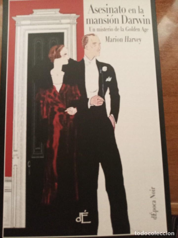 ASESINATO EN LA MANSIÓN DARWIN. M. HARVEY (Libros Nuevos - Literatura - Narrativa - Novela Negra y Policíaca)