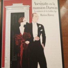Libros: ASESINATO EN LA MANSIÓN DARWIN. M. HARVEY. Lote 278810103