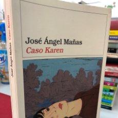 Libros: CASO KAREN - JOSE ANGEL MAÑAS. Lote 282191873