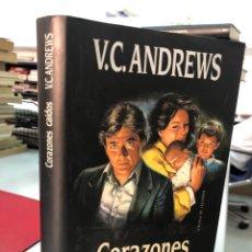 Libros: V. C. ANDREWS CORAZONES CAÍDOS. Lote 282212623