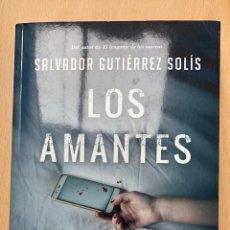 Libros: LOS AMANTES ANÓNIMOS.SALVADOR GUTIÉRREZ SOLÍS.-NUEVO. Lote 283346173